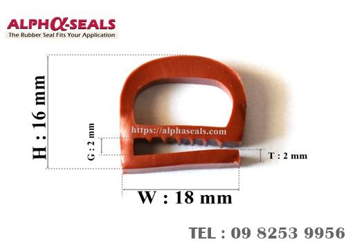ซีลตู้อบ e-profile QH181602R