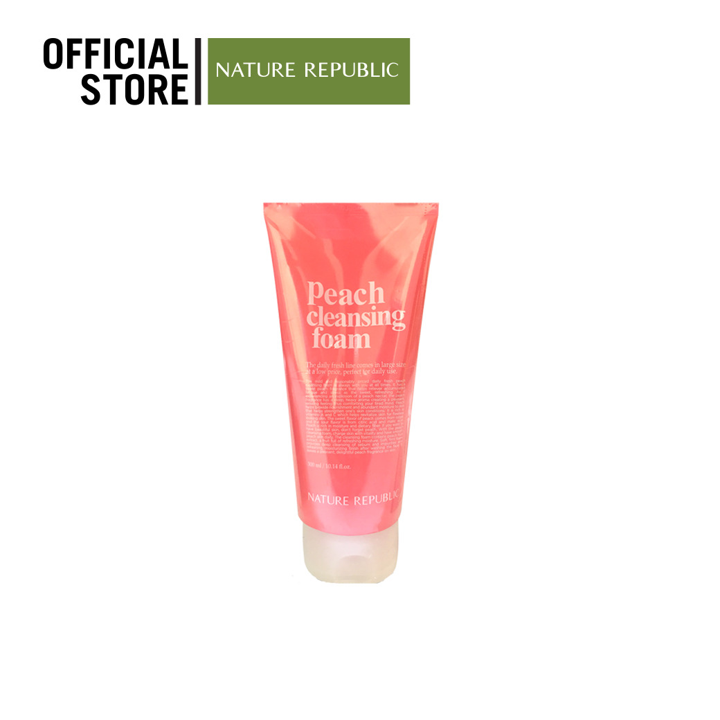 DAILY FRESH PEACH CLEANSING FOAM(300ml)