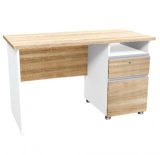 โต๊ะทำงานไม้ตู้ลิ้นชักขวา