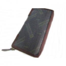 ไส้กระเป๋าสตางค์ สีน้ำตาลเข้ม ขนาด 10.5 * 20.5 ซม.
