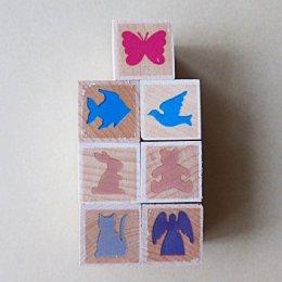 ชุดตัว Stamp รูปสัตว์น้อย บรรจุ 7 ชิ้น