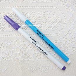 (เหลือสีม่วง) ปากกาเขียนผ้า ลบออกได้
