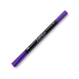 ปากกาเพ้นส์ผ้า Fabrico Dual Marker สีม่วงเข้ม
