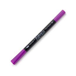 ปากกาเพ้นส์ผ้า Fabrico Dual Marker สีม่วงเม็ดมะปราง