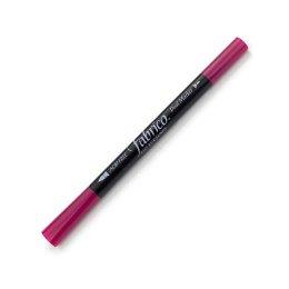 ปากกาเพ้นส์ผ้า Fabrico Dual Marker สีชมพูบานเย็น