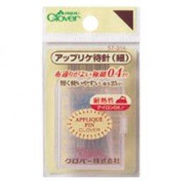 เข็มหมุด Applique (เล่มบาง) ขนาด 0.4 * 25 มม. 90 เล่ม