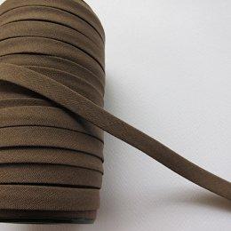ผ้ากุ๊นสีพื้น กว้าง 1 ซม. ยาว 90 ซม. (สีน้ำตาลอ่อน)