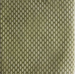 ผ้าญี่ปุ่น ลายวงรี สีเขียว ขนาด 1/4 หลา (45 * 55 ซม.)