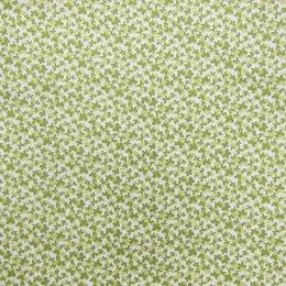 ผ้าญี่ปุ่น ลายผีเสื้อ สีเขียว Moda ขนาด 1/4 หลา (45 * 55 ซม.)