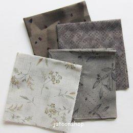 ผ้าคอตตอนญี่ปุ่นจัดเซต 4 ชิ้น (27 * 45 ซม.)