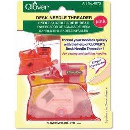 เครื่องสนเข็ม Clover สีชมพู