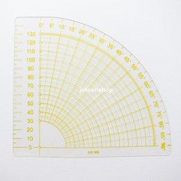 ไม้บรรทัด quarter circle ruler