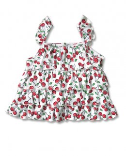 Six Bunnies CUTE CHERRIES tank Baby Dress