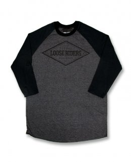Loose Riders DIAMOND grey Herren Raglans
