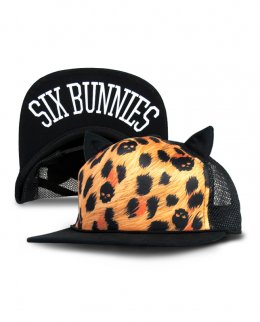 Six Bunnies LEO SKULLS Kids Accessories Hat.