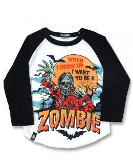 Six Bunnies ZOMBIE Kinder T-Shirt.