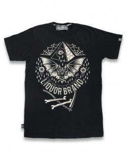 Liquor Brand BAT Herren T-Shirt