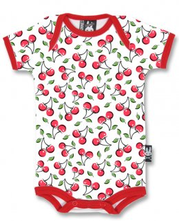 Six Bunnies CUTE CHERRIES Baby Romper