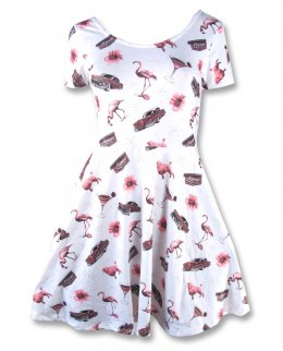 Liquor Brand VEGAS-skate Women Dress