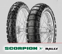 Pirelli SCORPION RALLY : Yamaha Super Tenere