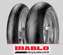 Pirelli DIABLO SUPERCORSA SC2 v1 : 120/70ZR17+180/55ZR17