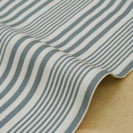 ผ้า Cotton ของ คุณ Yukari No.13 เส้นเทา **เนื้อหนา (1/4 เมตร)