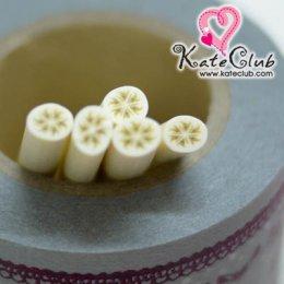 กล้วยรี - Polymer Clay Cane - 5mm (1 แท่ง)