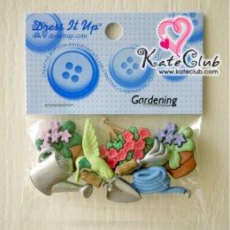 กระดุม Gardening - 6960