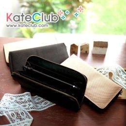 (หมดค่ะ) ไส้กระเป๋าสตางค์สำเร็จ ขนาด 10x19x2cm **คลิกเลือกสีด้านใน