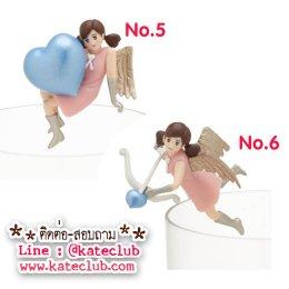 (พร้อมส่งเบอร์ 5,6) สาวน้อยเกาะแก้ว Cup no Fuchiko Heart Chocolate