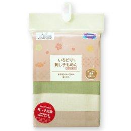 (หมดค่ะ) Set ผ้าคอตตอนญี่ปุ่น สำหรับงานปักผ้าแบบ Sashiko ขนาด 33x70 cm (รวม 3 ชิ้น)
