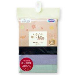 Set ผ้าคอตตอนญี่ปุ่น สำหรับงานปักผ้าแบบ Sashiko ขนาด 33x70 cm (รวม 3 ชิ้น)