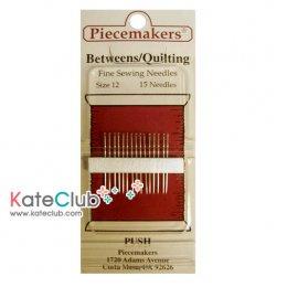 เข็ม Quilting เบอร์ 12 ยี่ห้อ Piecemakers **ความยาว 2.3 cm 1 ห่อ (มี 15 เล่มจ้า)