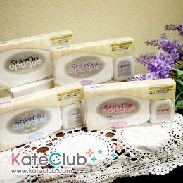 หมึก StazOn opaque Set หมึกปั๊มพลาสติก, แก้ว, พลาสติกเรซิ่น, กระดาษขี้ผึ้ง, ภาพถ่าย (มีให้เลือก 12 เฉดสี)