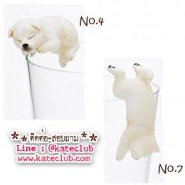 (พร้อมส่งเบอร์ 4,7) ตุ๊กตาเกาะแก้ว PUTITTO Shiba (ความสูงประมาณ 3-3.5 cm)