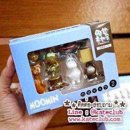 (พร้อมส่ง 1 เซทค่ะ) NOS-71 NoseChara Moomin 2 (1 set มี 8 ชิ้น)