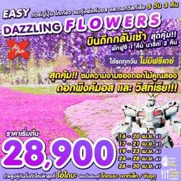 ทัวร์ญี่ปุ่น : Easy Dazzling Flowers in Tokyo