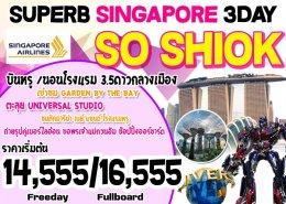 ทัวร์สิงคโปร์ : SINGAPORE SO SHIOK 3D