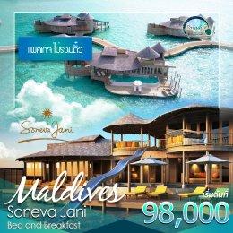 ทัวร์มัลดีฟส์ : SONEVA JANI Maldives (ไม่รวมตั๋ว)