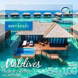 ทัวร์มัลดีฟส์: Lily Beach Resort & Spa แพ็คเกจไม่รวมตั๋ว