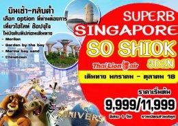 ทัวร์สิงคโปร์ : SUPERB SINGAPORE SO SHIOK!!
