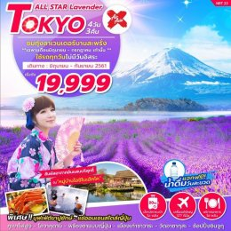 ทัวร์ญี่ปุ่น:ลาเวนเดอร์โตเกียว