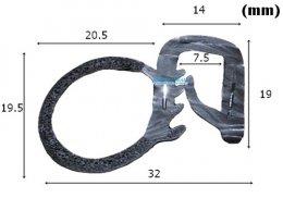 ซีลยางกระดูกงู RW-EP-013
