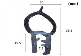 ซีลยางกระดุกงู RW-EP-017