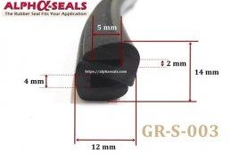ซีลยาง s-Profile GR-S-003