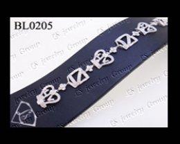 สร้อยมือเพชร (Diamonds Bracelet) เพชร Heart&Arrow – Russian Cut