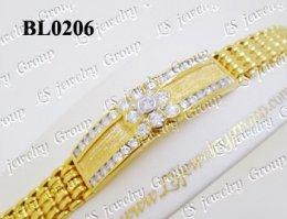 สร้อยข้อมือเพชร (Diamond Bracelete) เพชร Heart & Arrow - Russian Cut Finest Diamonds