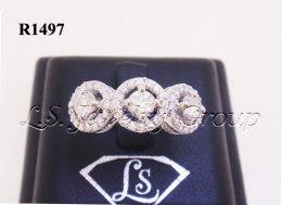 แหวนเพชร 1.20 Ct. เพชรH&A