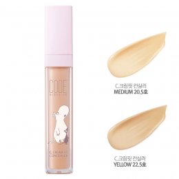 Code Glokolor Moomin 2nd Edition C.Cream Fit Concealser 22.5