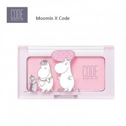 Code Glokolor X Moomin 2nd Edition N.Mono Cheek #M.Pink